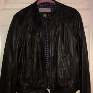 🔥OFFER 🔥 Andrew Marc Leather Moto jacket